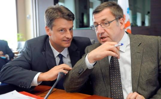 Ministers Vanackere en Chastel over de verkiezingen in de DRC