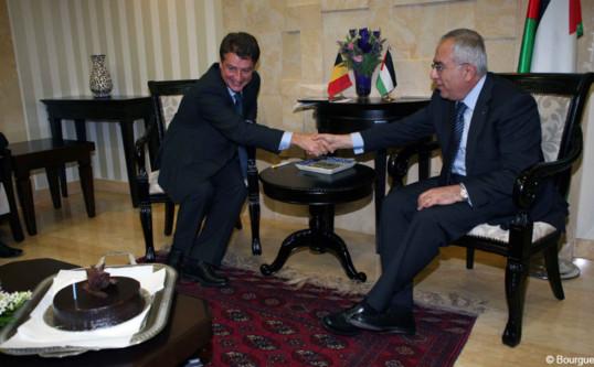 Bilateraal onderhoud met de Eerste Minister van de Palestijnse Autoriteit