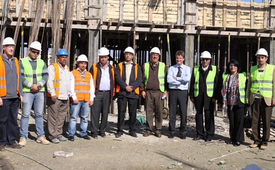 Bezoek aan de door België gesteunde projecten  in de Palestijnse gebieden
