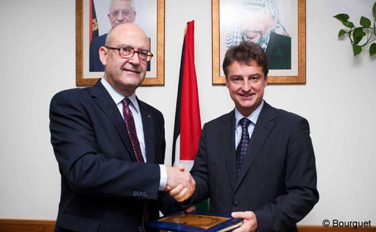 Ondertekening van het 4e Samenwerkingsprogramma tussen België en de Palestijnse autoriteiten