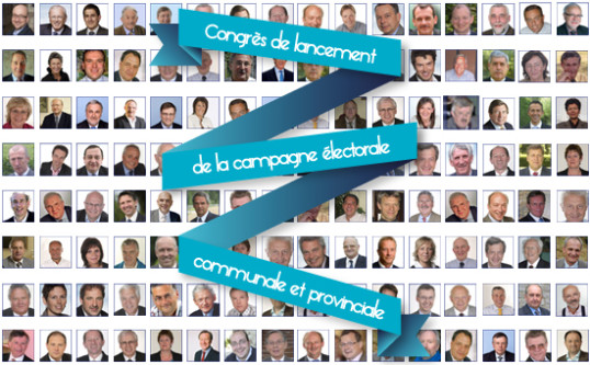 Lanceringscongres voor de gemeenteraadsverkiezingen en de provinciale verkiezingen