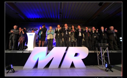 Nieuwjaarswensen van de MR in Jurbise: Henegouwen verdient meer blauw!