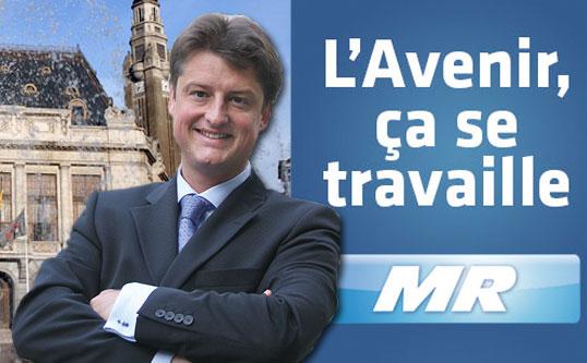 Met de MR van Charleroi en haar 51 kandidaten wordt aan de toekomst van Charleroi gewerkt!