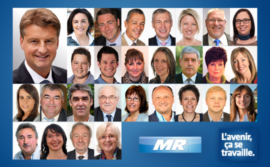 Henegouwen : Olivier Chastel stelt de MR-lijst voor de Kamer van Volksvertegenwoordigers voor