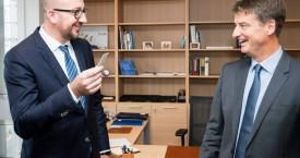 Olivier Chastel, nouveau Président du MR