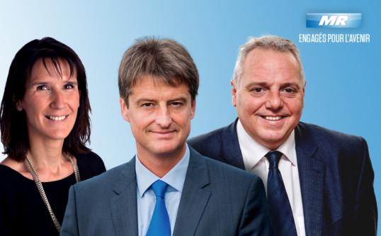 Hervé Jamar gouverneur de la province de Liège – Sophie Wilmès ministre du Budget