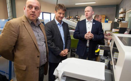 Visite des Entreprises Printbox et Equilis