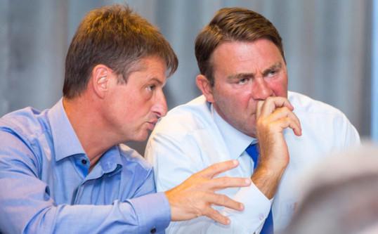 Pensions des militaires, Olivier Chastel et Denis Ducarme ont reçu le SLFP Défense