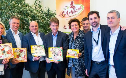 Visite de l'entreprise «L'Artisane» à Courcelles